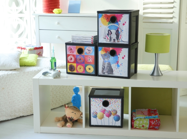 Unsere ordnungstipps f r chaotische kinderzimmer - Aufbewahrungsboxen fur kinderzimmer ...