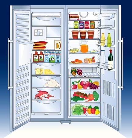 Kühlschrankübersicht