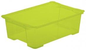 Box EVO EASY 30 l olivgrün transparent