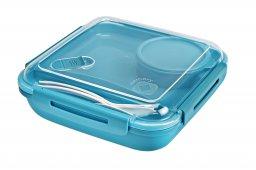 Lunchbox MEMORY B3 AQUA blau