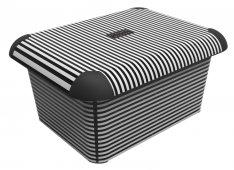 Box A4 CREATIVE 15 l Stripes