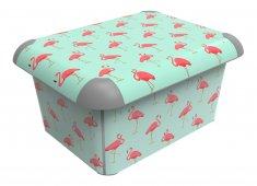 Box A4 CREATIVE 15 l Flamingos