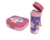 Set Box + Flasche MEMORY KIDS Prinzessin   Princess