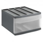 Schubladenbox SYSTEMIX L  anthrazit