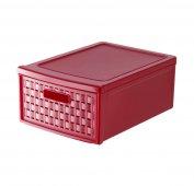Schubladenbox klein COUNTRY 8.3 l  rot