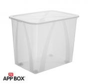 Aufbewahrungsbox ARCO 70 l  transparent