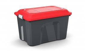 Box LOCKER 60 l  schwarz/rot
