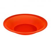 Teller tief CARUBA 21 cm  rot
