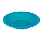 Teller tief CARUBA 21 cm  aqua blau