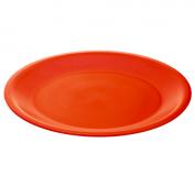 Teller flach CARUBA 26 cm  rot