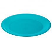Teller flach CARUBA 26 cm  aqua blau