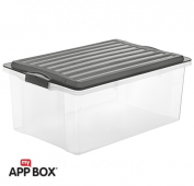 Stapelbox COMPACT 38 l / A3  anthrazit