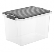 Stapelbox COMPACT 19 l / A4  anthrazit