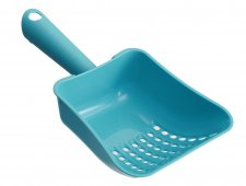 Pet Food Schaufel   blau