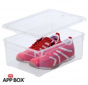 Clear Box Men Shoe 10 l  transparent