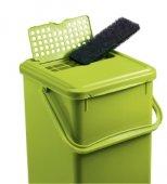 3er Set Ersatzfilter für Komposteimer   schwarz