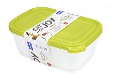Set Kühlschrankdose SUNSHINE 2-tlg   lime grün