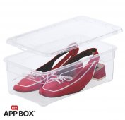 8er Set Clear Box Lady Shoe