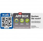 "5x ""App my Box"" Etiketten"