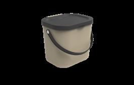 Recycling Müllsystem ALBULA 6 l  Cappuccino