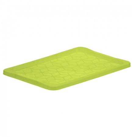 Deckel für 30 - 44 - 65 l Box EVO EASY   olivgrün transparent