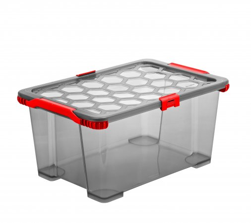 Box EVO TOTAL PROTECTION 44 l anthrazit/rot