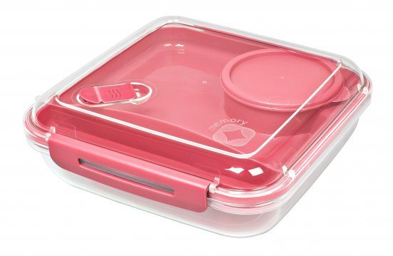 Lunchbox MEMORY B3   CORAL pink