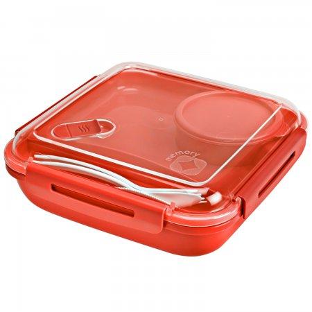 Lunchbox MEMORY 1.1 l  PAPAYA rot