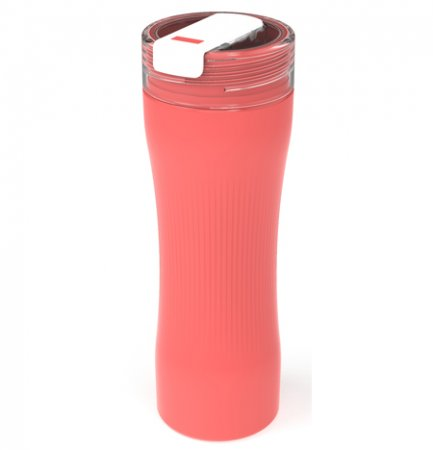 Trinkflasche MEMORY 0.8 l  CORAL pink