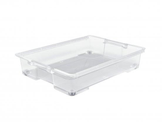 Unterbettbox EVO EASY 50 l (ohne Deckel) transparent
