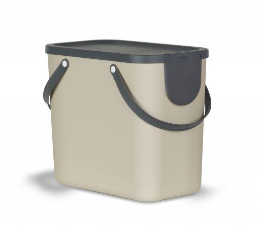 Recycling Müllsystem ALBULA 25 l  Cappuccino