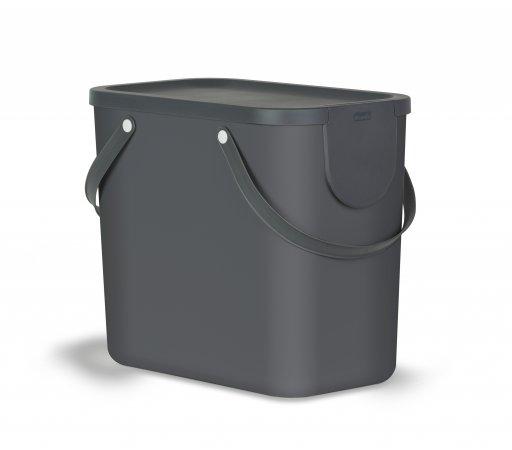 Recycling Müllsystem ALBULA 25 l Anthrazit