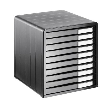 Bürobox 10 Schübe TIMELESS A4  anthrazit