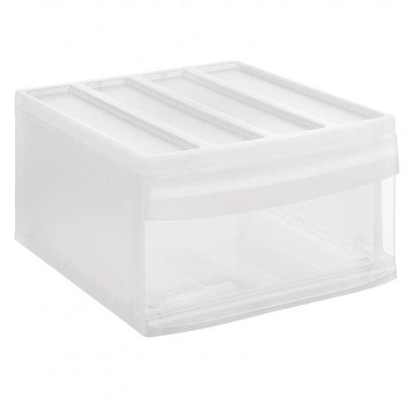 Schubladenbox SYSTEMIX L  transparent