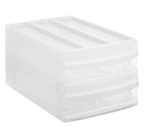 Schubladenbox SYSTEMIX Duo M  transparent