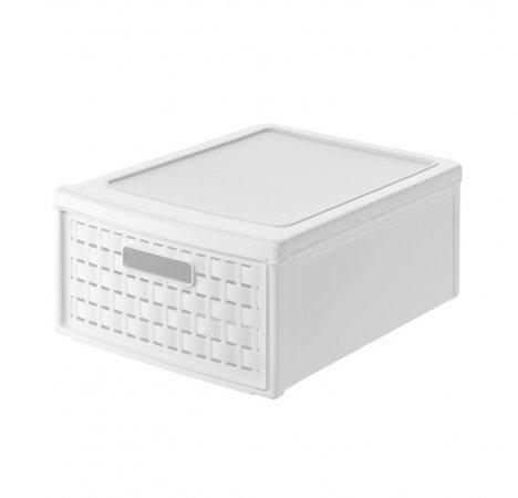 Schubladenbox klein COUNTRY 8.3 l  weiss