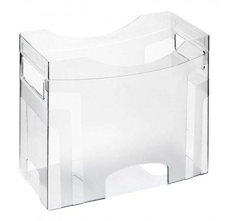 Hängemappenbox CUBE A4  transparent