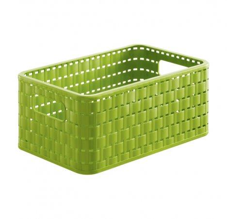 Korb COUNTRY 6 l / A5  grün