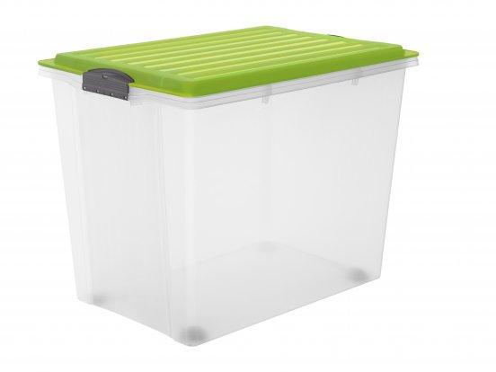 Stapelbox mit Rollen COMPACT 70 l