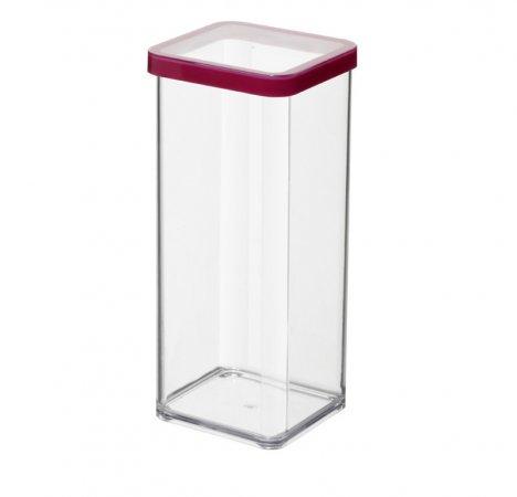 Premiumdose LOFT 1.5 l  transparent / rot