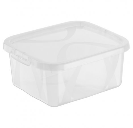 Aufbewahrungsbox ARCO 2 l  transparent