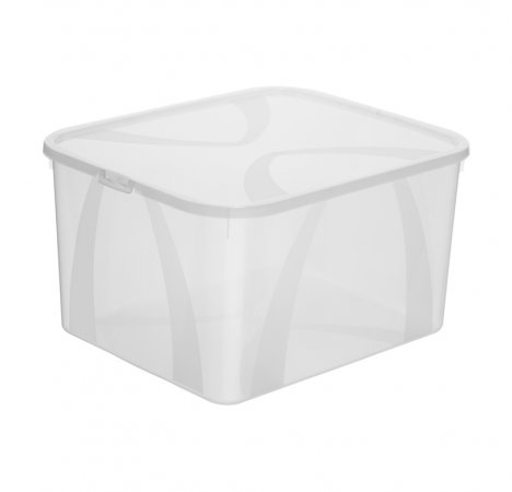 Aufbewahrungsbox ARCO 25 l  transparent