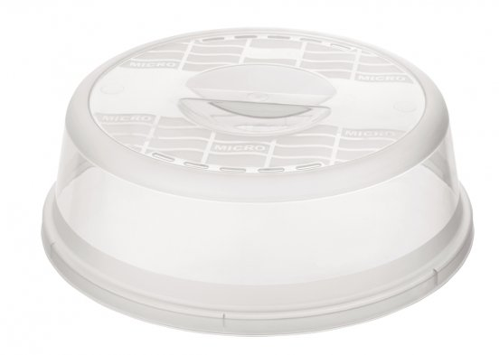 Mikrowellen-Abdeckhaube BASIC 26.5 cm  transparent