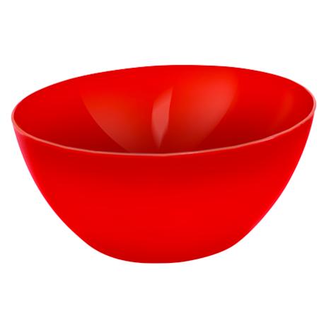 Schüssel gross CARUBA 8 l  rot