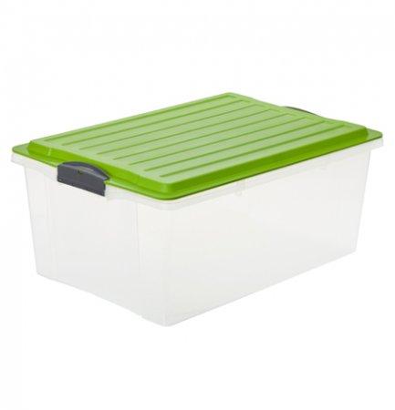 Stapelbox COMPACT 38 l / A3 grün