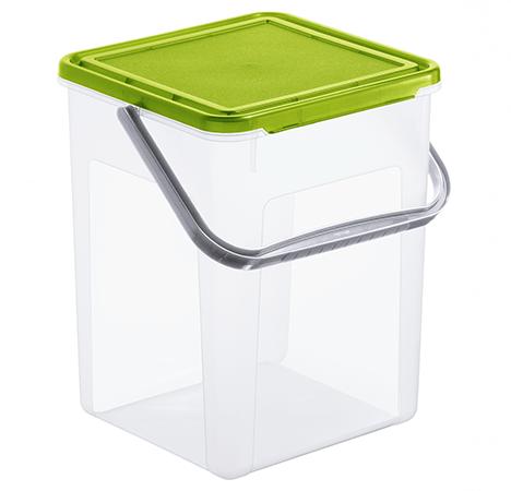 Waschmittelbehälter BASIC 9 l / 5 kg  grün