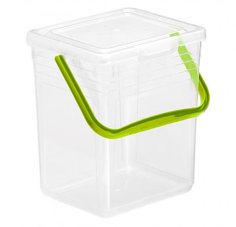Waschmittelbehälter POWDY 7 l / 5 kg  grün