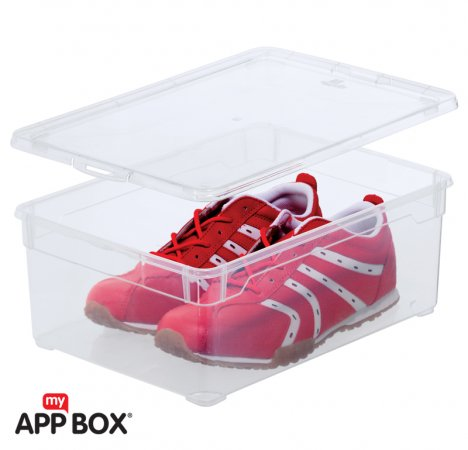 Clear Box Men Shoe 10 l