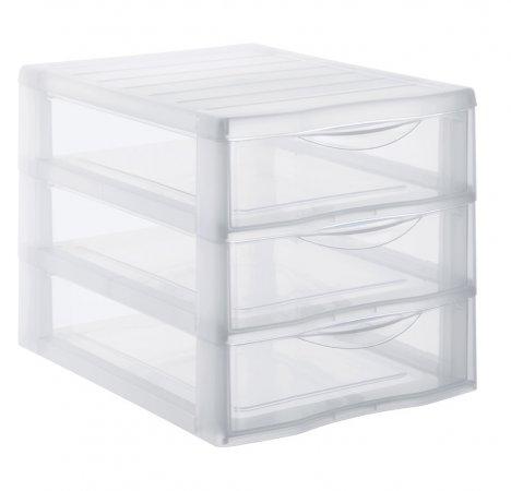 Schubladenbox 3 Schübe ORGAMIX A4