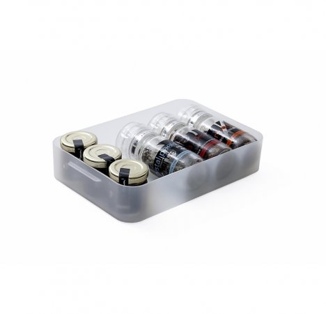PURE Box flach 1.3 l / A5  transparent